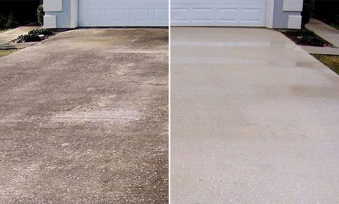raleigh driveway cleaning