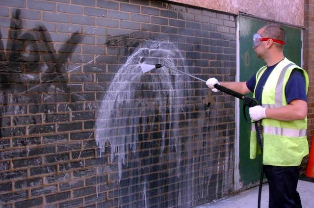 graffiti removal in raleigh