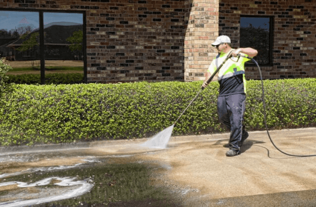 commercial concrete cleaning in raleigh